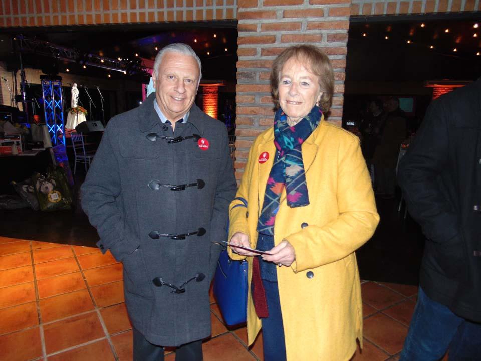 María Teresa Aránguiz y Jaime Espinoza