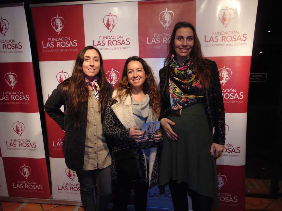 Isabel Silva, Loreto Valdés y María José Corssen