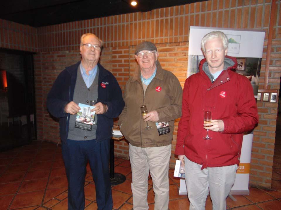 Gerardo Rodríguez, Alejandro Rodríguez y Francisco Rodríguez
