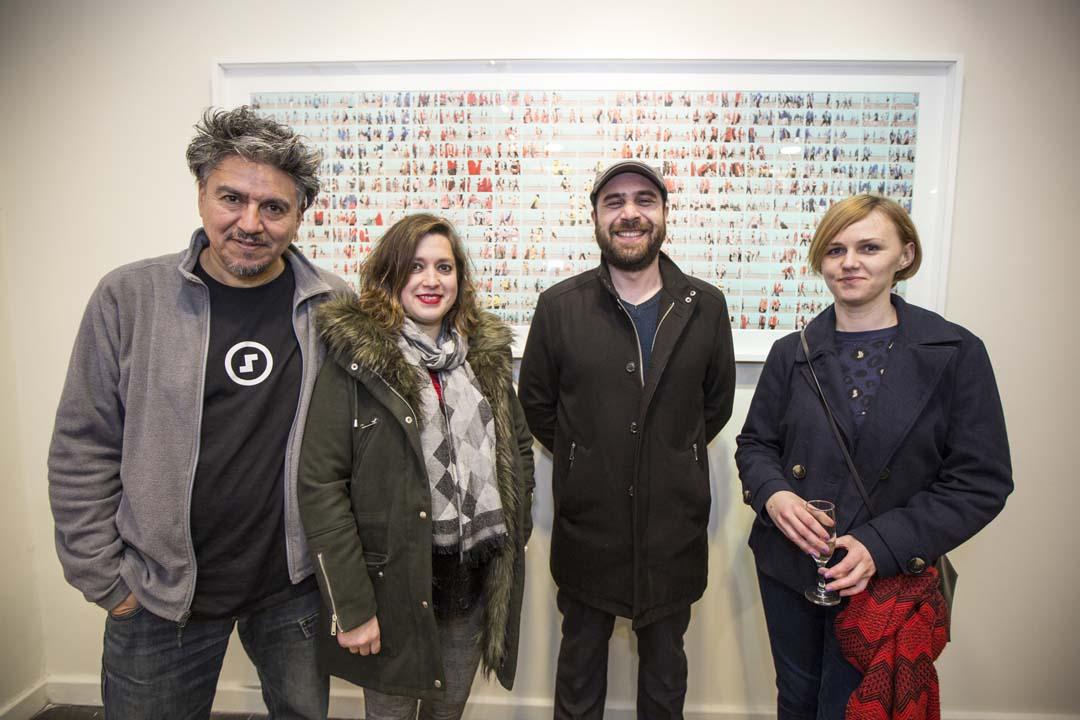 Simón Fuentes, Klaudia Silva, José Miguel Mardones y Renata Sinkevîc