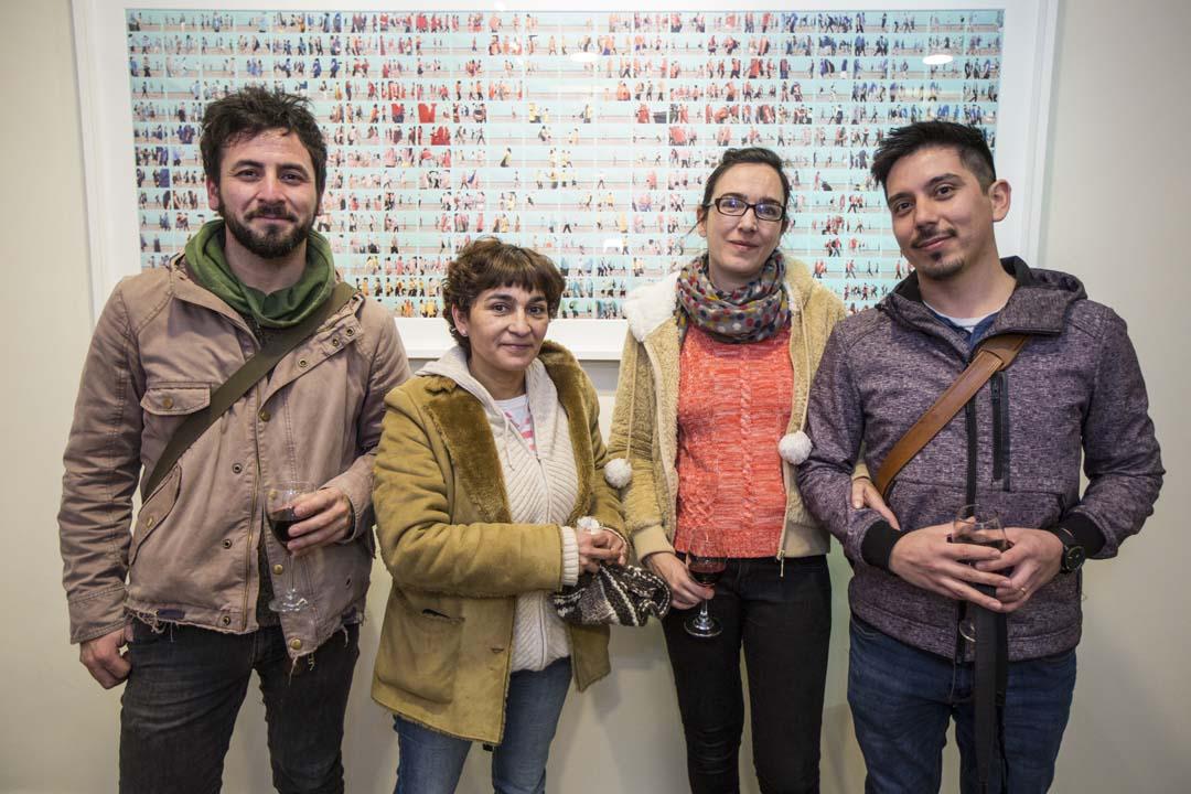 Eduardo Arenas, Susana Villar, Graciela Villar y Nicolás Gajardo