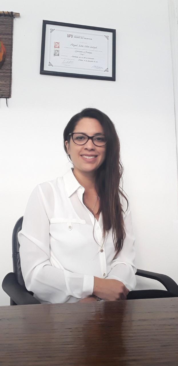 Abigail Ailva Carvajal, psicóloga talquina