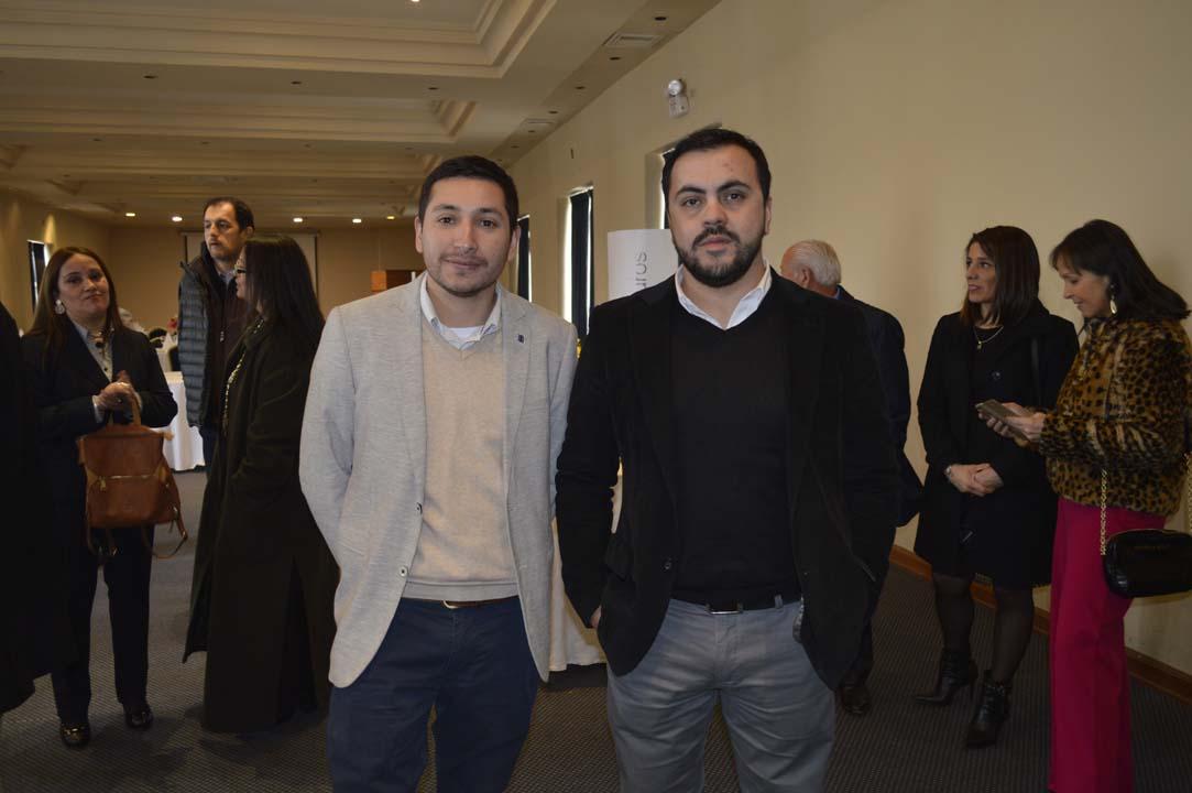 Cristian Farías y Claudio Martínez