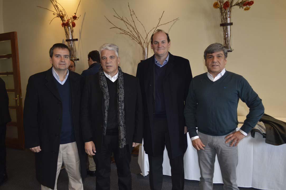 Rodrigo Heredia, Ismael Jara, Mario Gazitúa Swett y Alejandro Durán