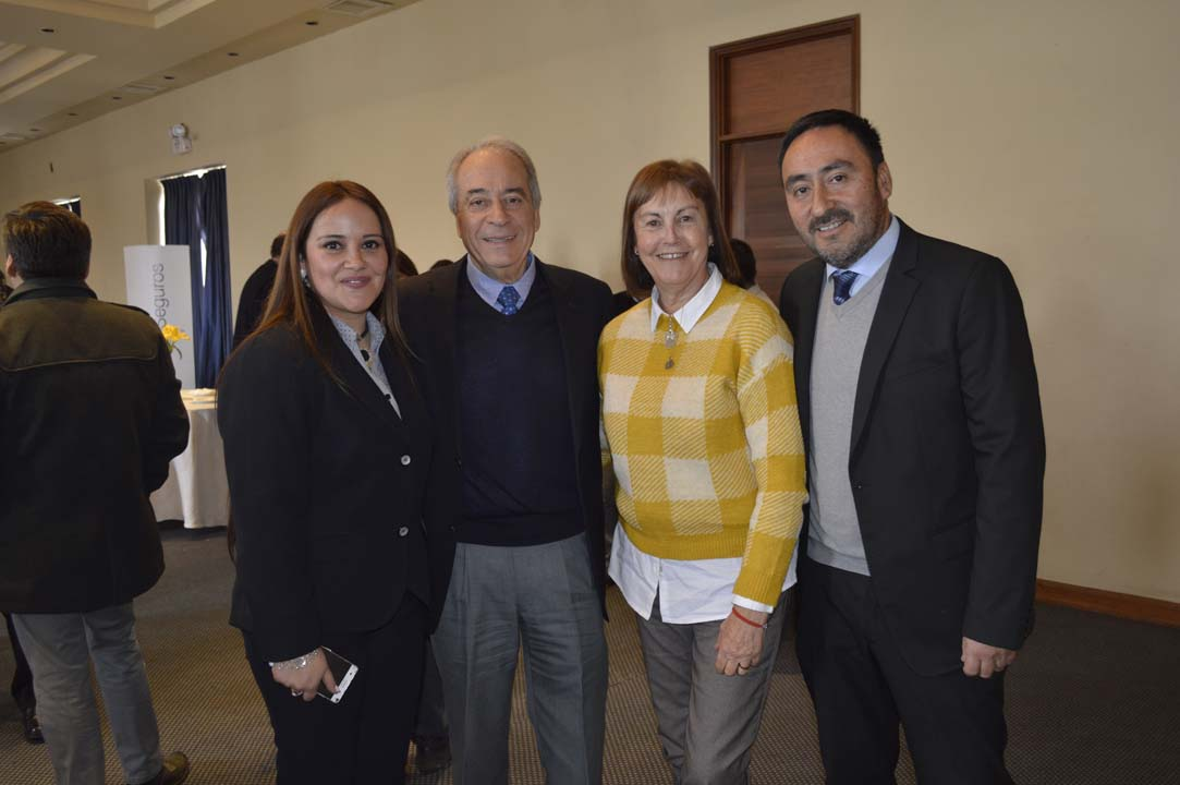 Andrea Muñoz, Jaime Stagno, María Antonieta Ruedi y Carlos Villanueva