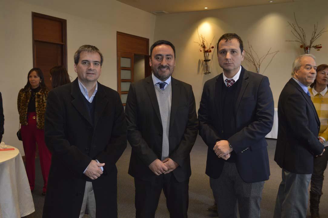 Rodrigo Heredia, Carlos Villanueva y Sergio Escobar