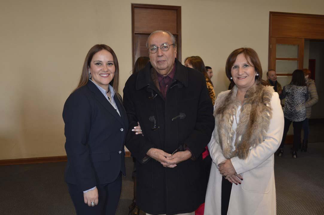 Andrea Muñoz, Iván García y Loreto Torres