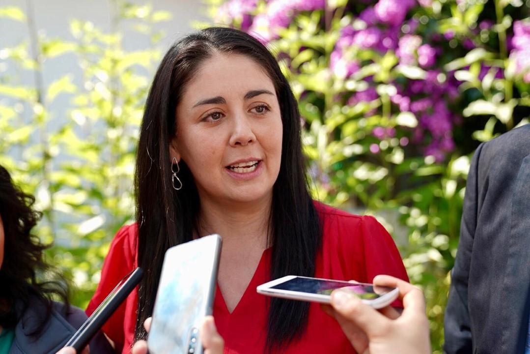 Photo of Carolina Tapia Navarrete, Directora Regional Servicio Nacional de Menores Ñuble
