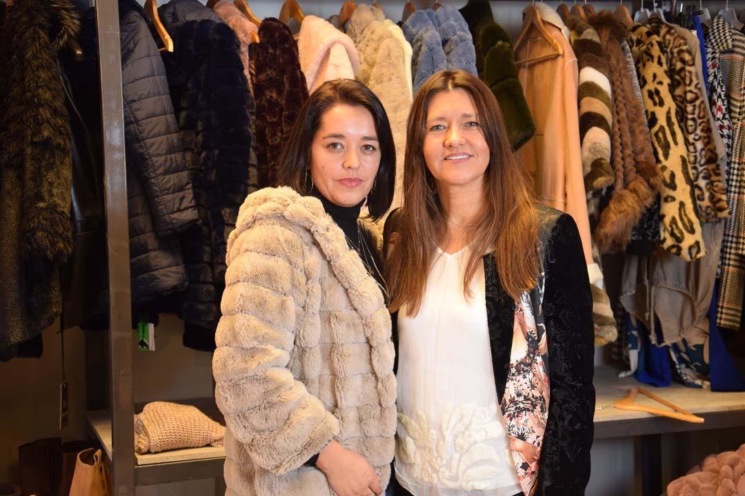 Natalia Fonseca y Ruby Cartes