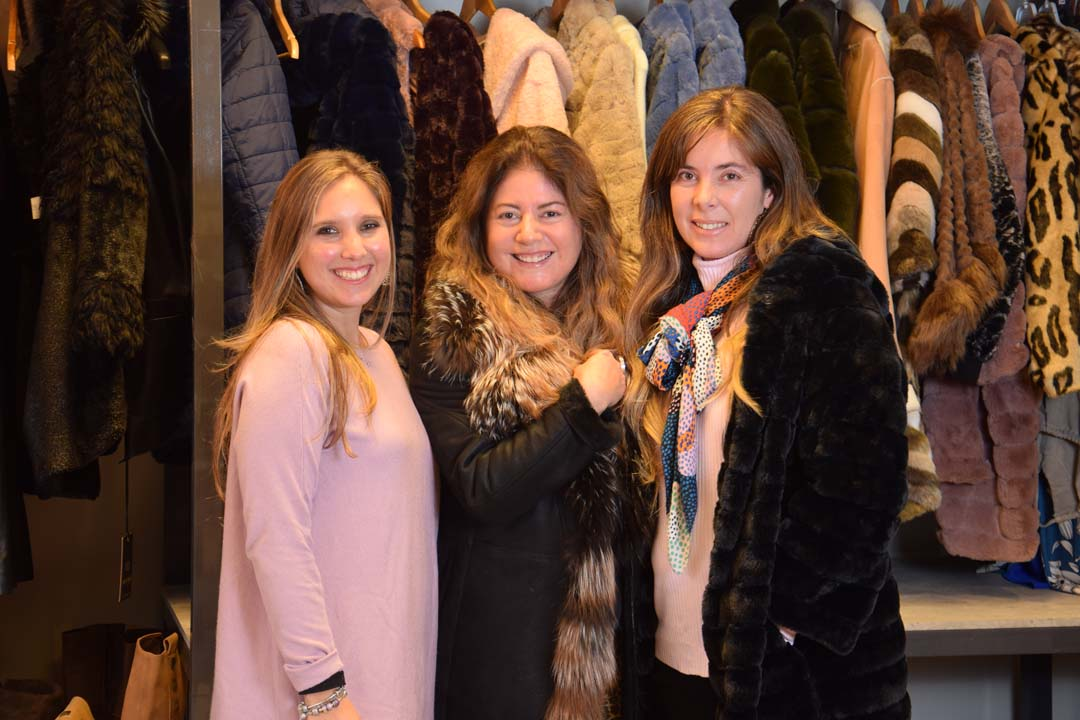 Carolina Mella, Pamela Castillo y Pamela Guzmán