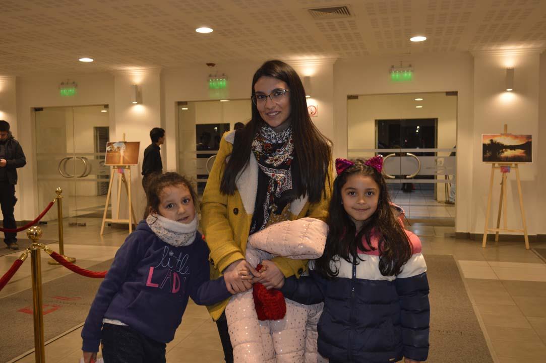 Amelia Araneda, Francisca Iglesias y Laura Mejías