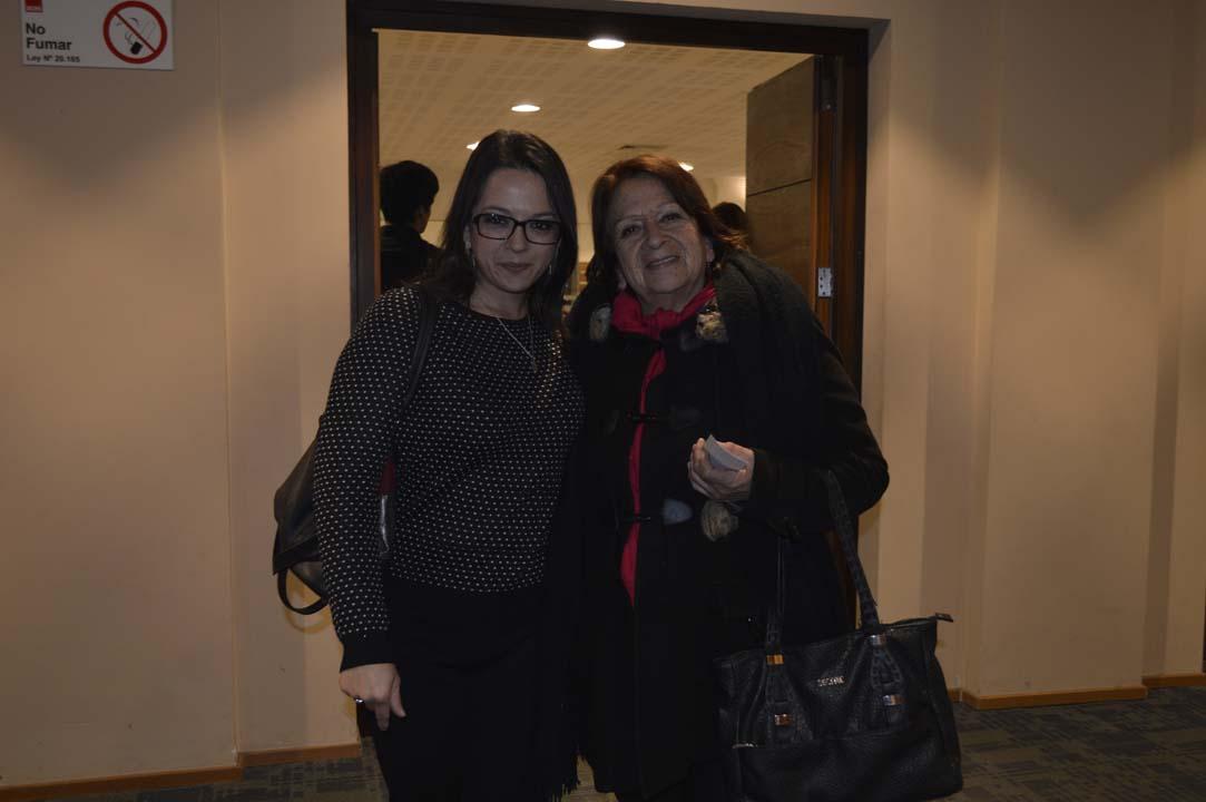 Andrea González y María Angélica Barriga
