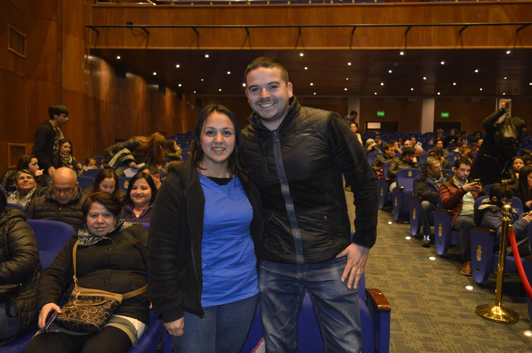 Judith Chandía y Alejandro Figueroa