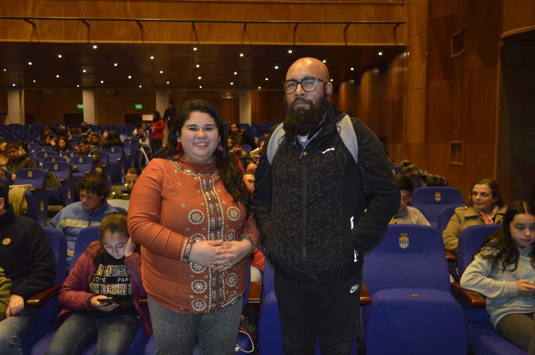 Jessica Lagos y Rodrigo Barrera