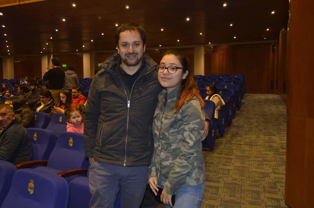Cristian Sánchez y Francisca Sánchez