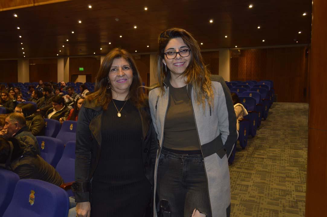 Francisca Carrasco y Ornella Villar