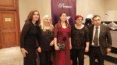 Premiados y organizadores premio de la Estrella del Sur de Uruguay