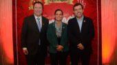 Juan Carlos Díaz (alcalde de Talca), Pía Yovanovic y Guillermo García