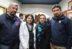 José Huentupil, Lorena Barra, Paz Millas y Daniel Ortiz