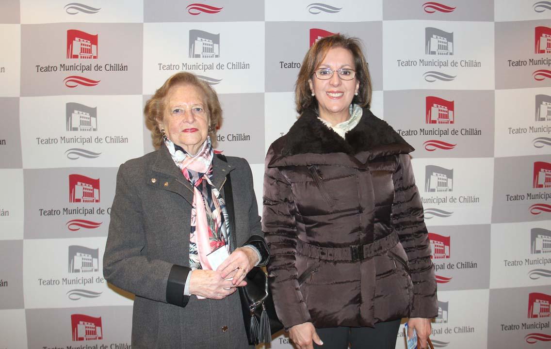 Liliana Piedra y Gloria Díaz