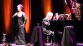 Roberto Bravo y la soprano Verónica Villarroel