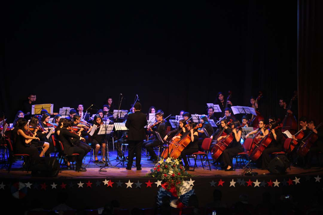 Photo of Jóvenes de la Provincia de Biobío brindaron concierto de Fiestas Patrias