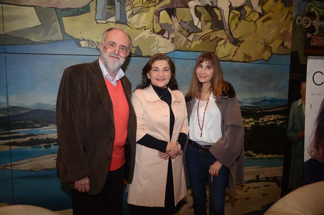 Marco Antonio de la Parra, Marcela Albornoz Dachelet y Carla Guelfenbein