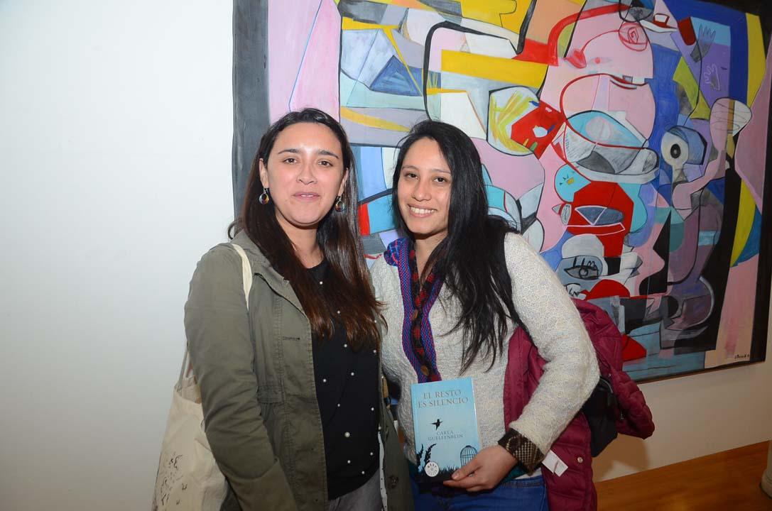 Eva Astorga Curumilla y María Ximena Núñez