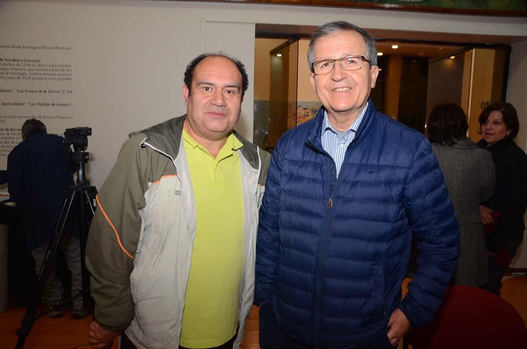 Manuel Rojas y Francisco Rodríguez
