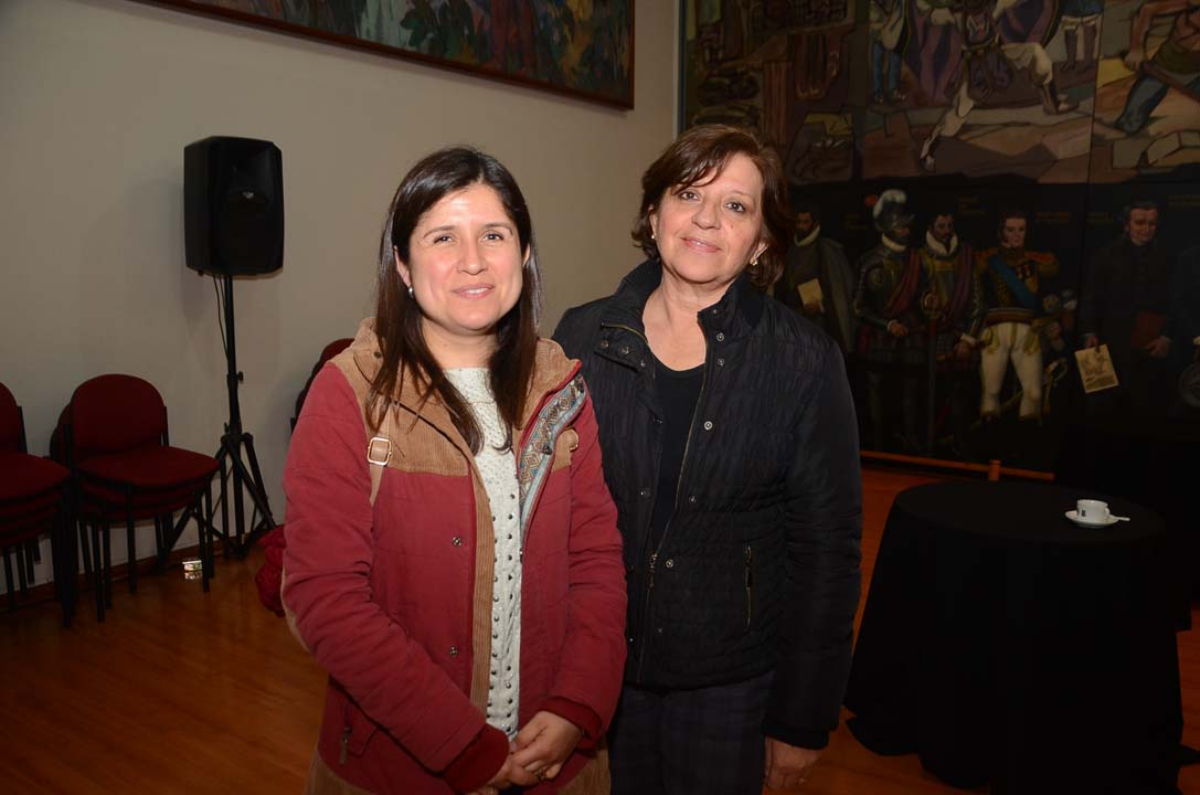 Oriana Luna y Patricia Loyola