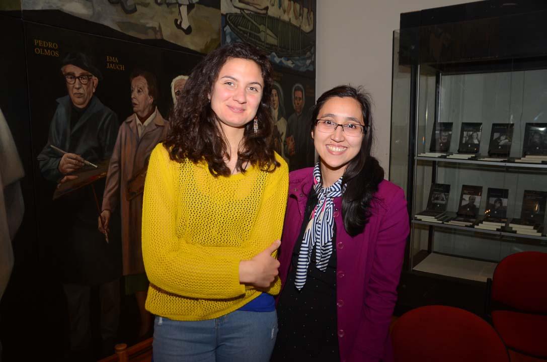 Pía Cumsille y Angélica Fuentes