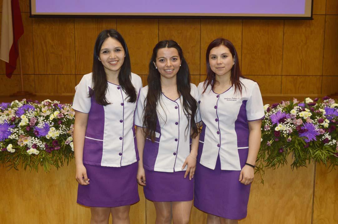 Patricia Ovalle, Vanessa Reyes y Bárbara Palma