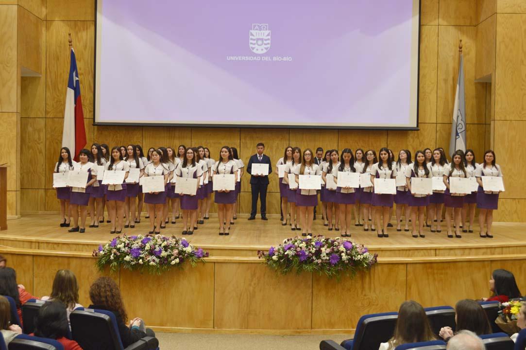 Titulados carrera Nutrición y Dietética, promoción 2018