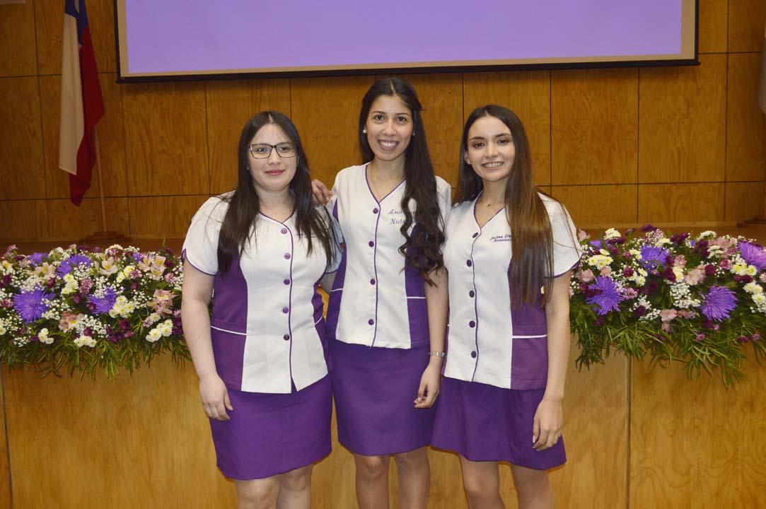Katherine Cofré, Ana María Canto y Javiera López