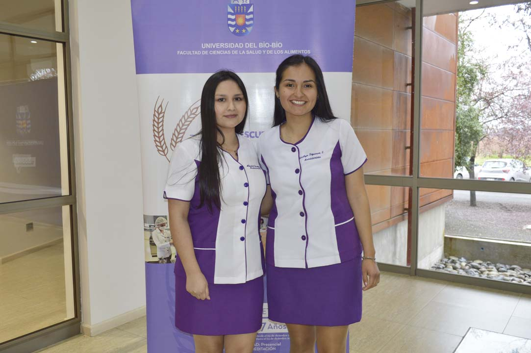 Alexia Ceballos y Jocelyn Figueroa