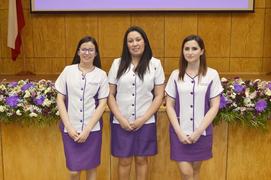 Rebeca Quezada, Thalía Fuentes y Daniela León