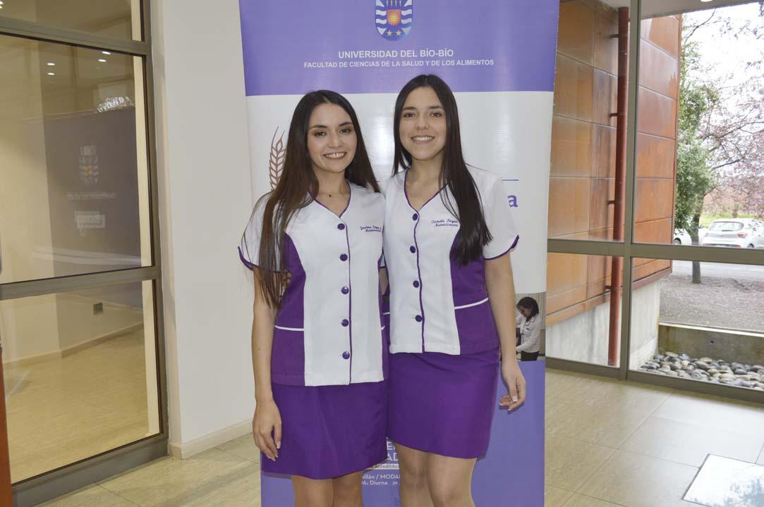 Javiera López y Camila Reyes
