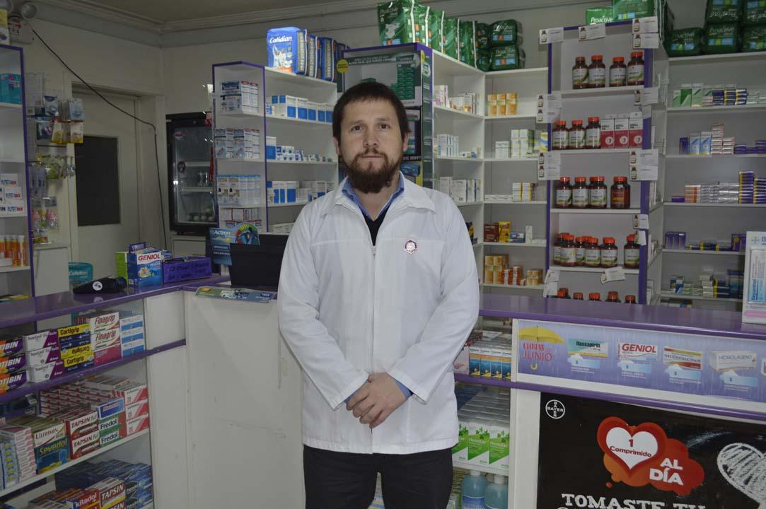 Felipe Huepe, químico farmaceútico