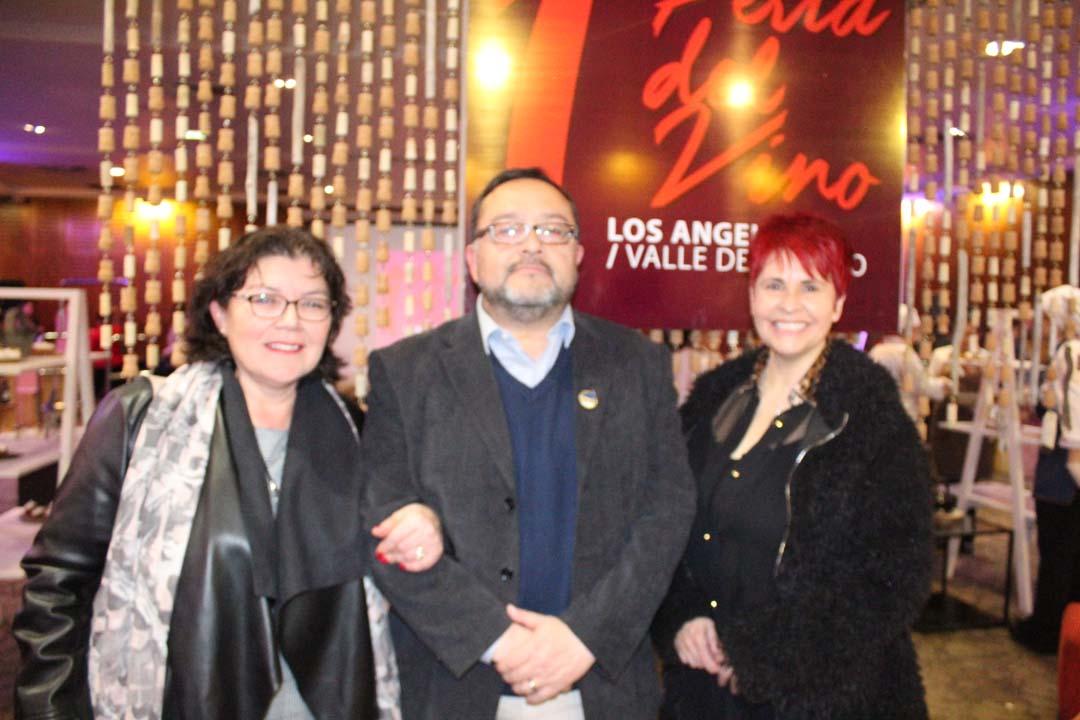 Claudia Murúa, Mauricio Rondanelli y Janette Quintana