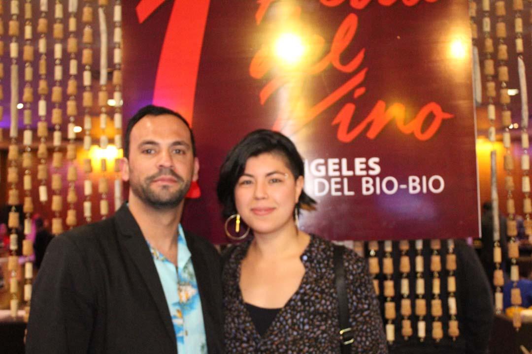 Cristian Iturriaga y Diandra García