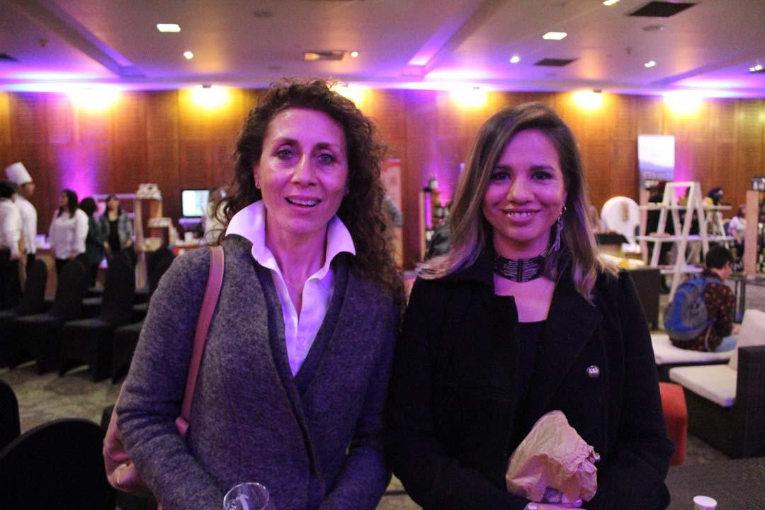 Eva Asfura y Viviana Venegas