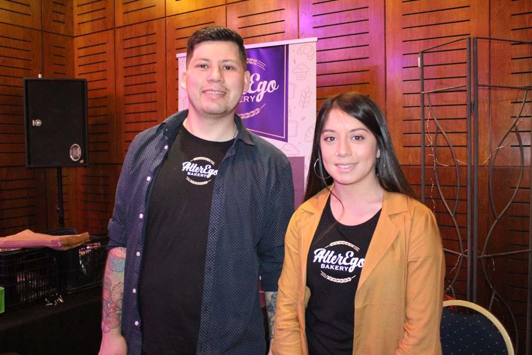 Francisco Garrido y Lilian Flores