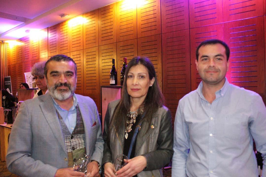 Félix Ríos, Ana Burgos y Carlos Cifuentes