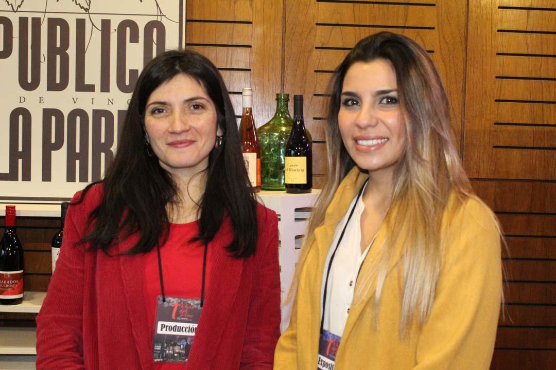 Ángela Campos y Camila Molina
