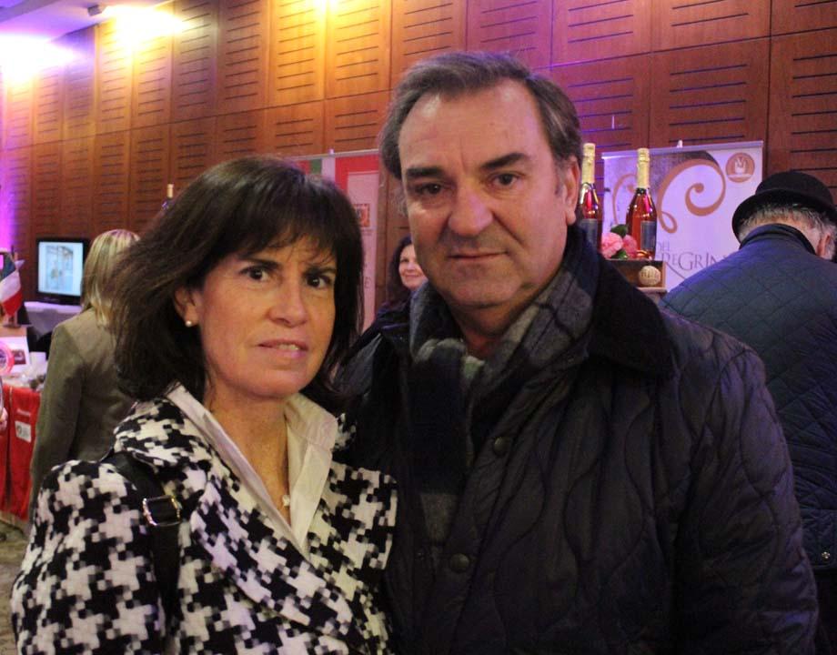 María Teresa Freire y Felipe Ciappa