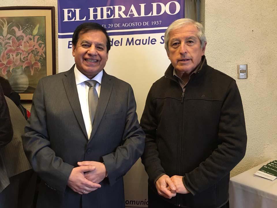 Miguel Ángel Venegas y Manuel Quevedo