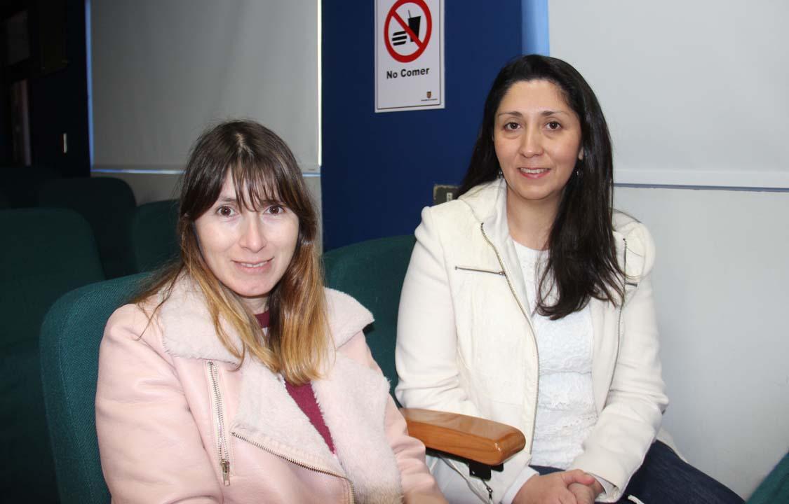 Andrea Cona y Jimena Leiva