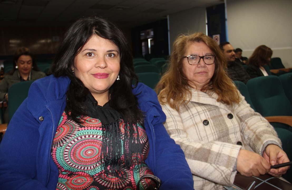Francisca Luco y Verónica Barra