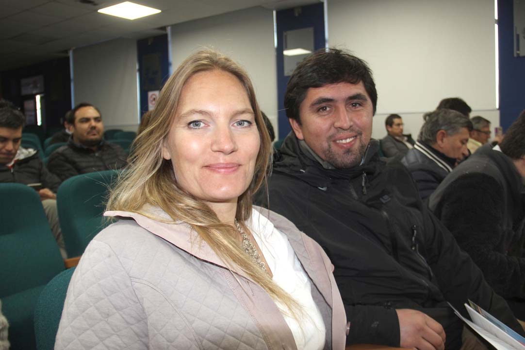 Sonja Ungar y Washington Rivas