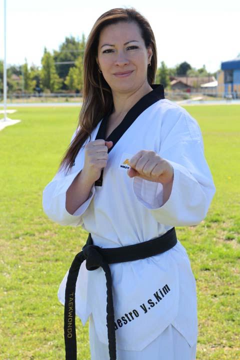 Elizabeth Muñoz Orellana, Taekwondo